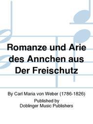 Romanze und Arie des Annchen aus Der Freischutz