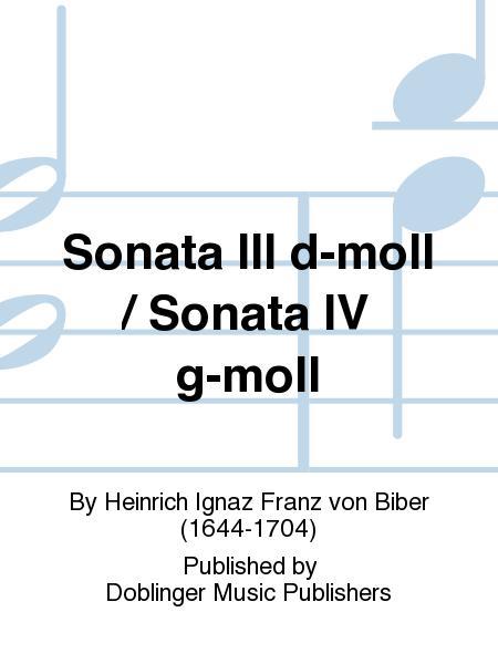 Sonata III d-moll / Sonata IV g-moll