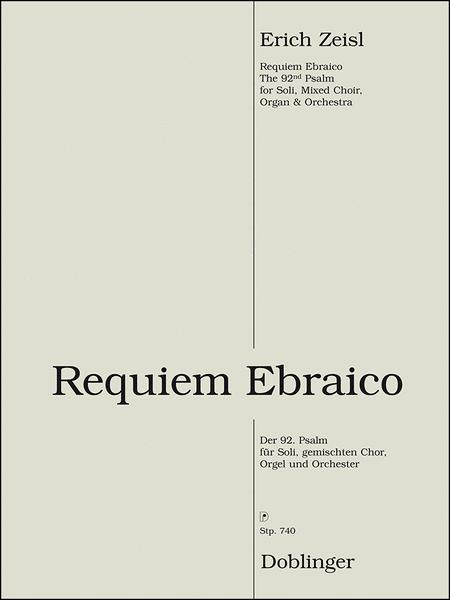 Requiem ebraico. The 92nd Psalm