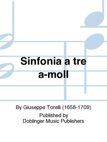 Sinfonia a tre a-moll