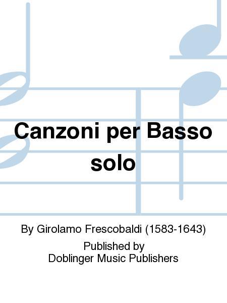 Canzoni per Basso solo
