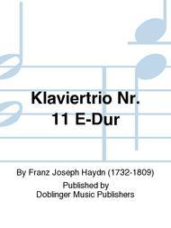 Klaviertrio Nr. 11 E-Dur