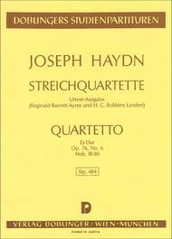 Streichquartett Es-Dur op. 76 / 6