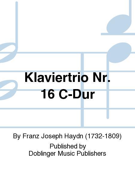 Klaviertrio Nr. 16 C-Dur