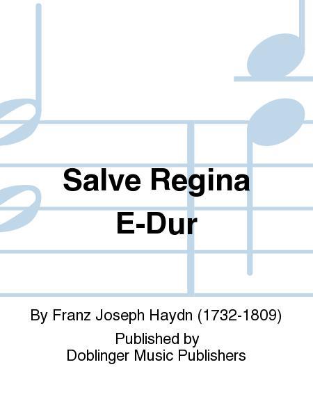 Salve Regina E-Dur