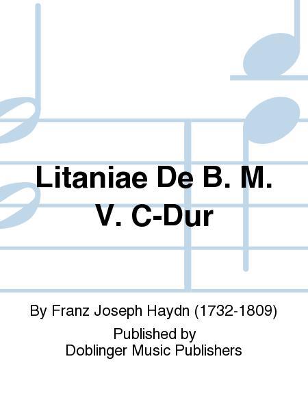 Litaniae De B. M. V. C-Dur