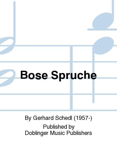 Bose Spruche