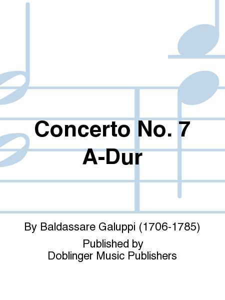 Concerto No. 7 A-Dur