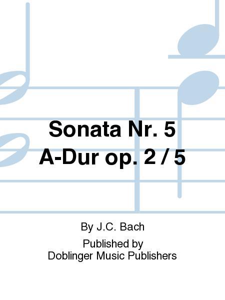 Sonata Nr. 5 A-Dur op. 2 / 5