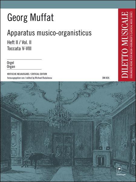 Apparatus musico-organisticus Band 2