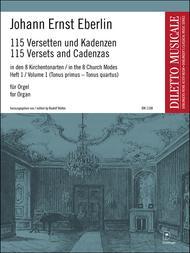 115 Versetten und Kadenzen Band 1