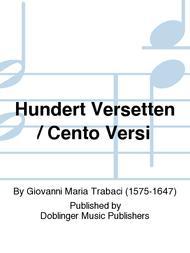 Hundert Versetten / Cento Versi