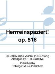 Herrreinspaziert! op. 518
