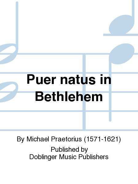Puer natus in Bethlehem