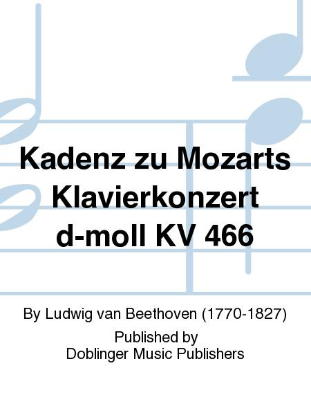 Kadenz zu Mozarts Klavierkonzert d-moll KV 466