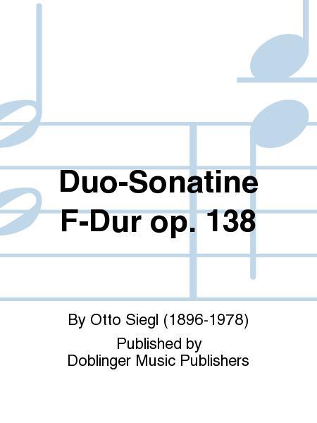 Duo-Sonatine F-Dur op. 138