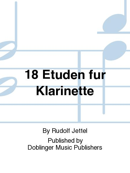 18 Etuden fur Klarinette