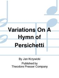 Variations on A Hymn of Persichetti
