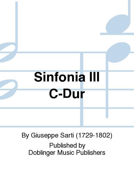 Sinfonia III C-Dur