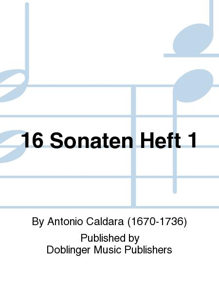 16 Sonaten Heft 1