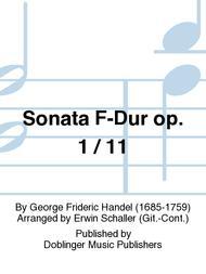 Sonata F-Dur op. 1 / 11