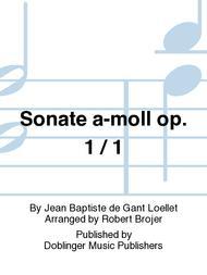 Sonate a-moll op. 1 / 1