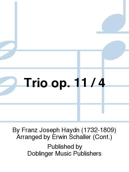 Trio op. 11 / 4