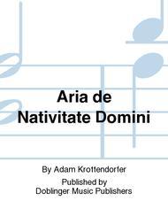 Aria de Nativitate Domini