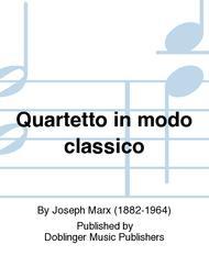 Quartetto in modo classico