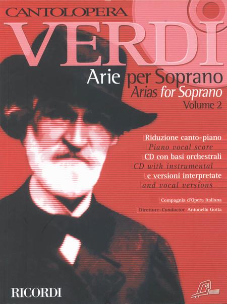 Cantolopera: Verdi Arias for Soprano - Volume 2