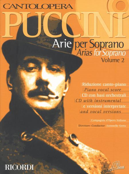 Arias for Soprano Volume 2 Cantolopera Vocal NEW 050484605 Cantolopera