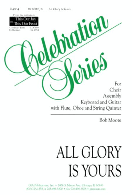 All Glory Is Yours - Instrument edition