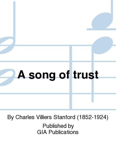 A song of trust