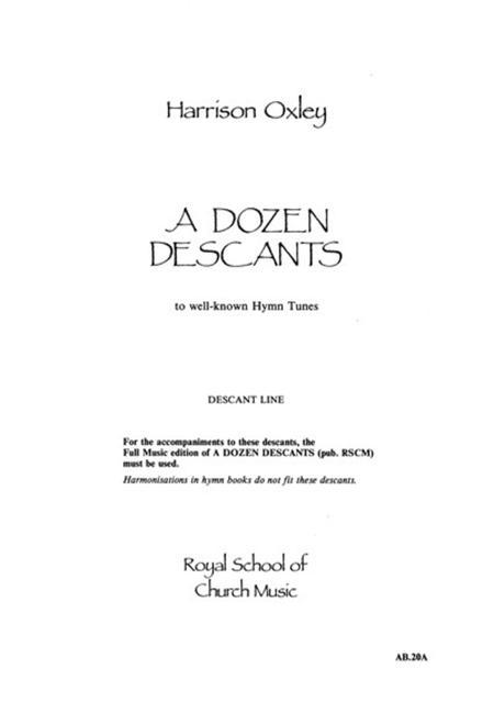 A Dozen Descants - Descant Line Only Sheet Music By Harrison