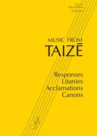 Music from Taize, Volume 1 - Spiral bound