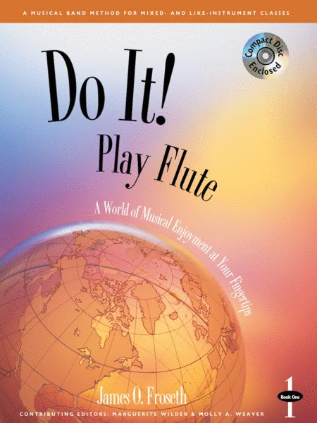 Do It! Play Flute Book 1 & CD