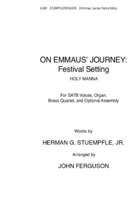 On Emmaus Journey: Festival Setting - Instrument edition B