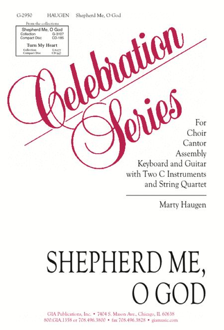 Shepherd Me, O God - Instrument edition