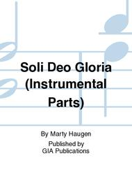 Soli Deo Gloria - Instrument edition