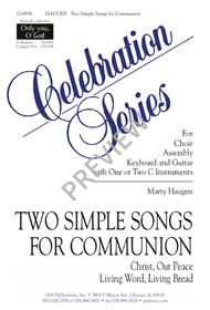 Two Simple Songs for Communion