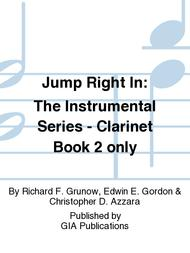 Jump Right In: Student Book 2 - Clarinet (Book only)