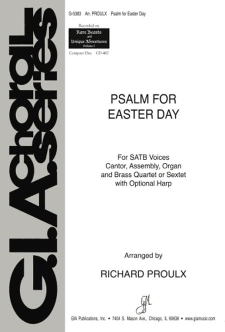 Psalm for Easter Day - Harp edition