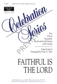 Faithful Is the Lord