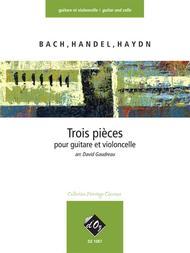 Trois pieces faciles (Bach, Handel, Haydn)