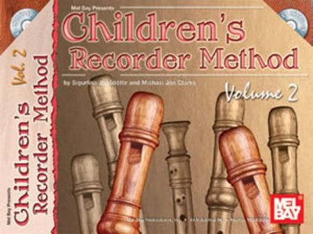 Children's Recorder Method, Volume 2