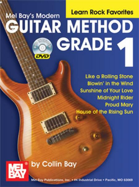 Modern Guitar Method Grade 1, Learn Rock Favorites
