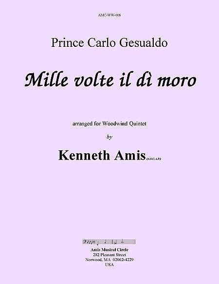Mille volte il di moro (for woodwind quintet)