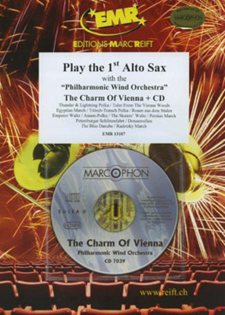 Play The 1st Alto Saxophone With The Philharmonic Wind Orchestra