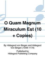 O Quam Magnum Miraculum - Score