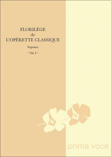 Florilege de l'Operette Classique: Soprano, Volume I